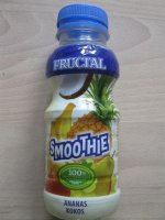 Fructal, smoothie, ananas - kivi