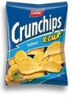 Crunchips x - cut, krompirjev ips s soljo