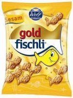 Gold fischli, sesam, slano pecivo s sezamom