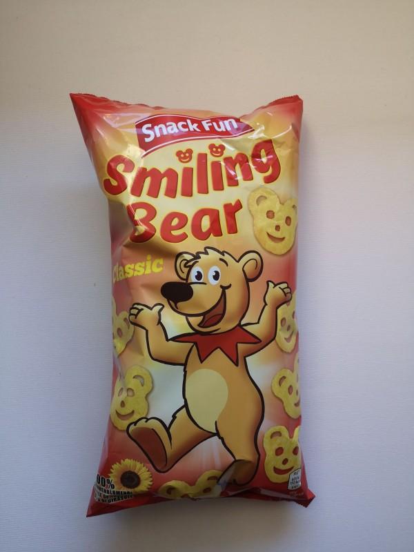 Snack Fun, Smiling Bear, Krompirjev prigrizek slani